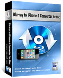 4Videosoft Blu-ray to iPhone 4 Converter for Mac