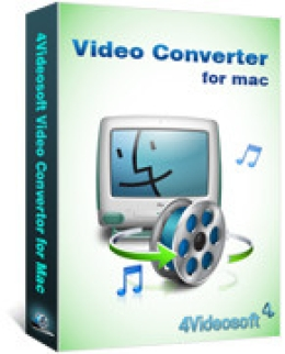 4Videosoft Video Converter for Mac