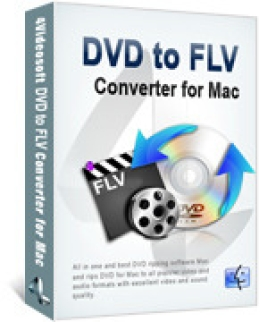4Videosoft DVD to FLV Converter for Mac