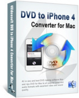 4Videosoft DVD to iPhone 4 Converter for Mac