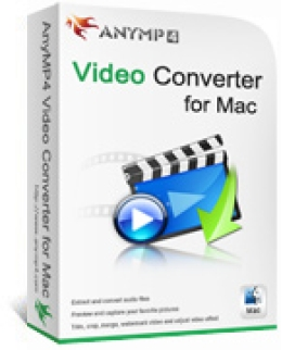 AnyMP4 Video Converter for Mac