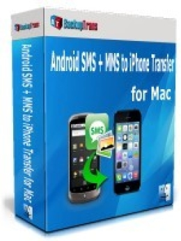 Backuptrans Android SMS + MMS to iPhone Transfer for Mac (Family Edition)