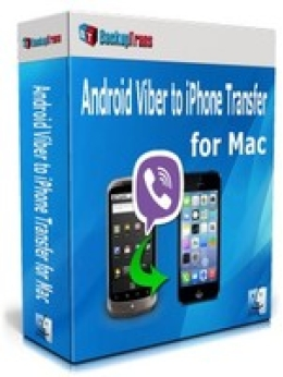 Backuptrans Android Viber to iPhone Transfer for Mac (Personal Edition)
