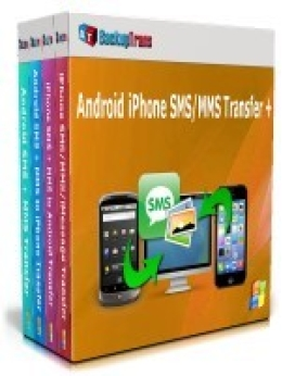 Backuptrans Android iPhone SMS/MMS Transfer + (Business Edition)