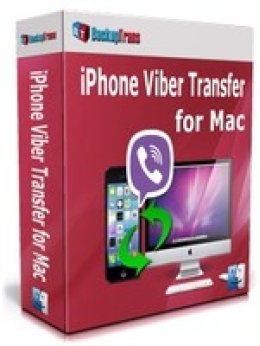 Backuptrans iPhone Viber Transfer for Mac (Personal Edition)