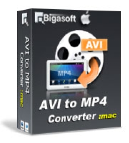 Bigasoft AVI to MP4 Converter for Mac
