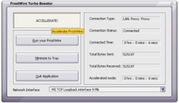 FrostWire Turbo Booster
