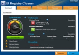 IU Registry Cleaner - (6-Month & 1-Computer)