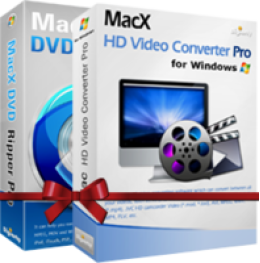MacX DVD Video Converter Pro Pack for Windows(Personal License)