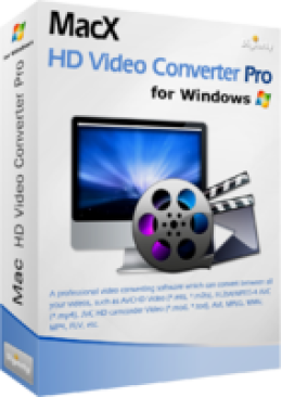 MacX HD Video Converter Pro for Windows (Personal License)