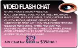 Video Flash Chat - Full Source Code Unlimited License Discount Voucher