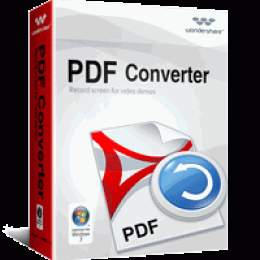 Wondershare PDF Converter for Windows (1-year license)