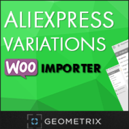 Aliexpress Variations WooImporter. Add-on for WooImporter.