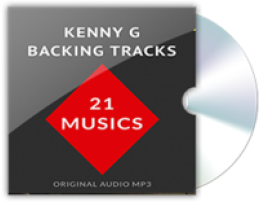 15% Backing Tracks Kenny G - MP3 Voucher Coupon