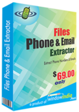 Files Phone and Email Extractor