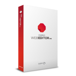 Namo WebEditor ONE - 1st year subscription (English version only)