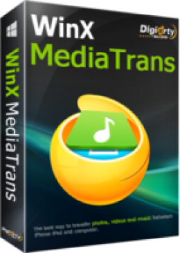 15% Off WinX MediaTrans (Lifetime License for 1 PC) Coupon Code
